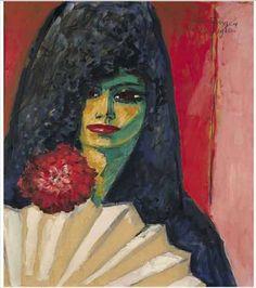 L_Espagnole___la_mantille_1910_de_Kees_Van_Dongen