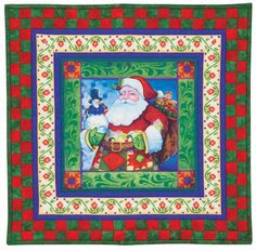 Jim Shore Ho Ho Holidays Wallhanging Quilt Kit