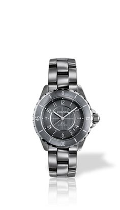Chanel's titanium ceramic watch: Its unique color and sparkle are obtained by adding titanium to ceramic