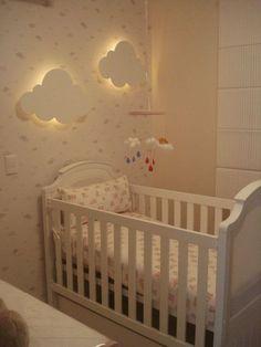 Nuvens na decoração dos quartos infantis!! - Jeito de Casa: