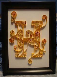 Letter H 5x7 | Flickr - Photo Sharing!