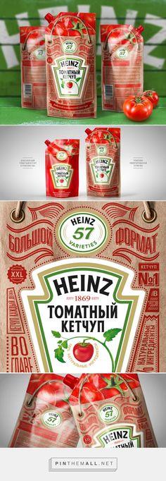 The Best Packaging | Heinz— томатный кетчуп в дизайне от Depot WPF - created via http://pinthemall.net
