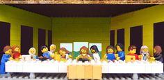 """Leonardo Da Vinci's """"Last Supper""""  in Lego (Marco Pece)"""