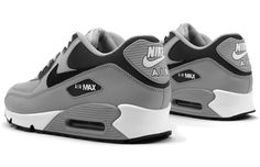 "Kicks of the Day: Nike Air Max 90 ""Wolf Grey"" Nike Shoes Cheap, Nike Free Shoes, Nike Shoes Outlet, Running Shoes Nike, Cheap Nike, Nike Air Max 90s, Airmax Thea, Ar Max, Air Max Sneakers"
