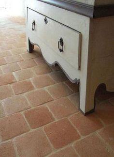 tomette - traditional Provencal tile - aka terra cotta