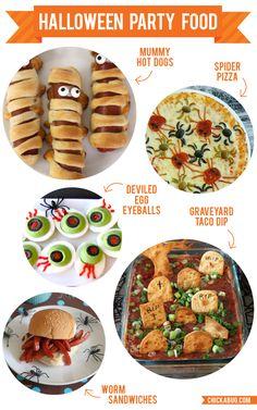 Fun Halloween party food!