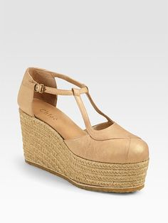 Chloé platform. Glad my sixth grade school shoes are FINALLY coming back in style.