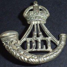 WW1 / WW2 British Army Durham Light Infantry Hat / Cap Badge