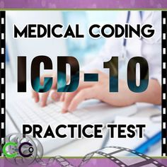 ICD 10 Practice Question - Medical Coding Practice Test. There are E-codes, but they are not the E-codes as we know them in ICD-9. They actually still have codes like E-codes, but they're in the Z section.
