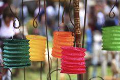 Papierowe lampiony? Zawsze! Bajka w Twoim ogrodzie. #fairy #paperlanterns #gardenparty #party #inspiration