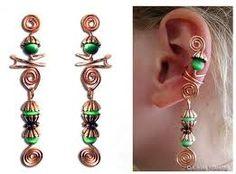 free ear cuff tutorial - Google Search