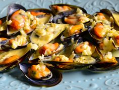 My Favorite Food, Favorite Recipes, Mussels, Ceviche, Canapes, Oysters, Potato Salad, Seafood, Food And Drink