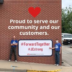 We must move #forwardtogether. #JCstrong