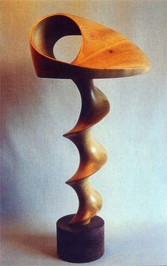 "John McAbery ~ 'Illusion ~ bay laurel  17"" x 9"" x 7"""
