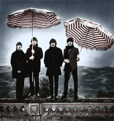 The Beatles (Ringo Starr, John Lennon, George Harrison, Paul McCartney) by Robert Whitaker Ringo Starr, George Harrison, The Beatles, Beatles Photos, Beatles Band, Beatles Poster, Original Beatles, Stuart Sutcliffe, Great Bands