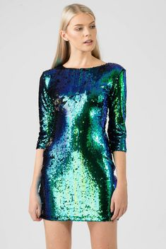 Find wholesale clothing in the UK and USA at Missi Clothing. Missi Clothing offers the latest on trend fashion dresses, club wear, party wear and much more. Green Sequin Dress, Green Dress, Cute Prom Dresses, Elegant Dresses, Party Wear, Party Dress, Sparkle Outfit, Halloween Dress, Celebrity Dresses