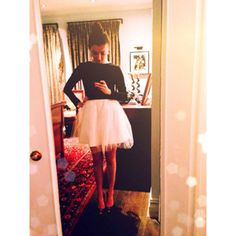 Tutu Dress. Who doesn't love a ballerina skirt? #freepeople #fpme