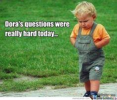 DoratheExplorer dora Quotes words show child funny lol hilarious Quotes I Smile, Make You Smile, Funny Cute, Hilarious, Dora Funny, Funny Memes, Funny Work, Stupid Funny, Lol