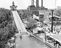 Chicago's Riverview amusement park 1904-1967 located at Western and Belmont.