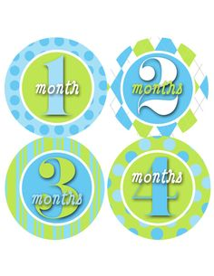 These are great for monthly growth pics :-)