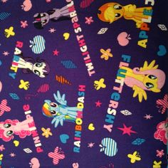 """Valance 42""""X15"""" panel """"my little pony """" by CountrySnuggles on Etsy"""