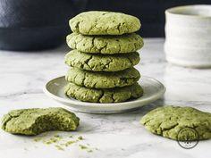 Cómo hacer galletas enérgeticas de té Matcha
