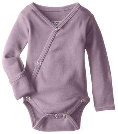 Amazon.com: L'ovedbaby Organic Unisex-Baby Kimono Bodysuit: Clothing