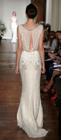 Jenny Packham - Available at Sam Cox Bridalwear, 01752 228451.