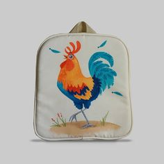 Excited to share the latest addition to my #etsy shop: Rybka - Small Backpack 2-3 Years, Kids Backpack, Toddler Bag, Preschool Kids, Playgroup bag, Rooster http://etsy.me/2CdUTUI #bagsandpurses #backpack #beige #kids #toddlerbag #preschoolkids #playgroupbag #gift #birt