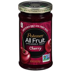 Polaner Cherry All Fruit Spread with Fiber 10 oz (Pack of 12) -- Want additional info? Click on the image.