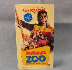 Zoobilee Zoo VHS Zooble Hop & Other Stories 1986 Rare Video Ben Vereen 3 Episode