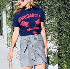 See how 11 girls are styling the Who What Wear wrap skirt for Target, and shop it for yourself.