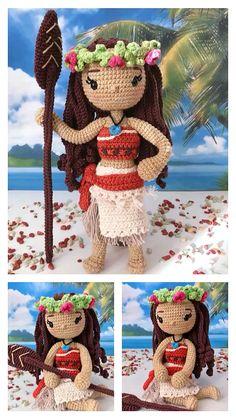 Crochet Animal Amigurumi, Amigurumi Doll, Crochet Animals, Crochet Princess, Crochet Baby, Free Crochet, Crochet Dolls Free Patterns, Amigurumi Patterns, Crochet Crafts