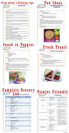 Instead of Lunchables this mom makes healthier versions and calls them Momables. Sample menu of healthy lunch ideas for kids