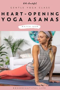 A 20 minute gentle & relaxing yoga class to focus on deepening your connection with your heart. | Yoga Workout | Through using different heart chakra opening asanas & postures, this peaceful Boho Beautiful yoga class will help you welcome more compassion and care into your body and mind while still allowing you to release tension and stiffness out of your body too. | Yoga Poses | Yoga Fitness | Juliana Spicoluk Yoga Teacher | Boho Beautiful #yoga #workout #fitness #exercise #morningyoga yoga poses for beginners INDIAN DESIGNER LEHENGA CHOLI PHOTO GALLERY  | I.PINIMG.COM  #EDUCRATSWEB 2020-07-08 i.pinimg.com https://i.pinimg.com/236x/5c/14/e8/5c14e89c965abc075952a98d3c0da2f5.jpg
