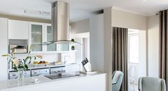 Seahill Kitchen Open Plan Kitchen, Restaurant, Bedroom, Modern, Table, Interiors, Sea, Furniture, Projects