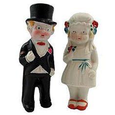 Vintage Wedding Cake Topper.....