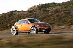 Volkswagen Beetle Dune Concept Side Motion - Provided by MotorTrend
