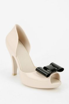 f6fa09d753a8 Mel By Melissa Shoes Peep-Bow Heel - Urban Outfitters