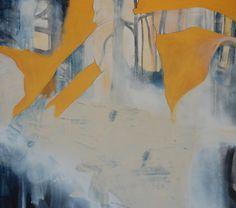 Cathrine Boman - Allegory of love, Acryl på lerret, 100 x 100 cm