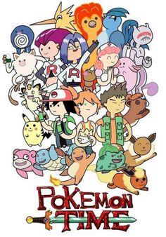 Pokémon/Adventure Time crossover.