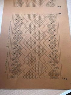 Bobbin Lace Patterns, Lacemaking, Needle Lace, Line Drawing, Bookmarks, Shawl, Hello Kitty, Fancy, Crafty