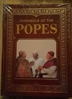 Chronicle of the Popes Leather Bound by P.G. Maxwell Stuart. RARE NEW! | Books, Nonfiction | eBay!
