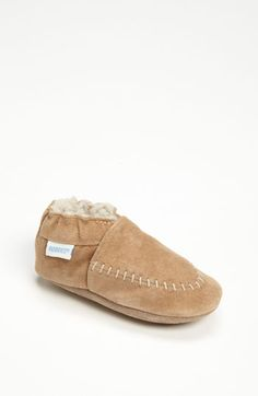 Robeez® 'Cozy Moccasin' Slip-On (Baby & Walker) available at Nordstrom