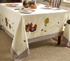 Thanksgiving Tablecloth | Pottery Barn Kids