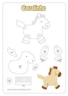 cartamodello cavallino