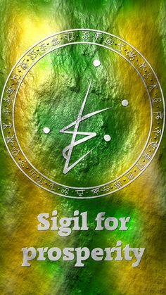 Wolf Of Antimony Occultism — Sigil for prosperity Sigil requests are closed. Wiccan Symbols, Magic Symbols, Magick Spells, Witchcraft, Symbole Protection, Alchemy, Book Of Shadows, Reiki, Fantasy