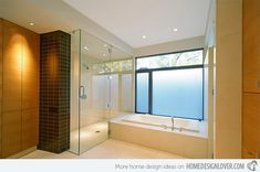 Glass Showers for the Bathroom