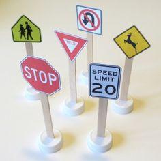 Print & Play Traffic Signs