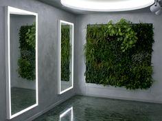 Verde Profilo Vertical Garden @ Biesse #verdeprofilo #vertical #garden #green #wall #nature
